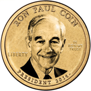 ron paul coin image